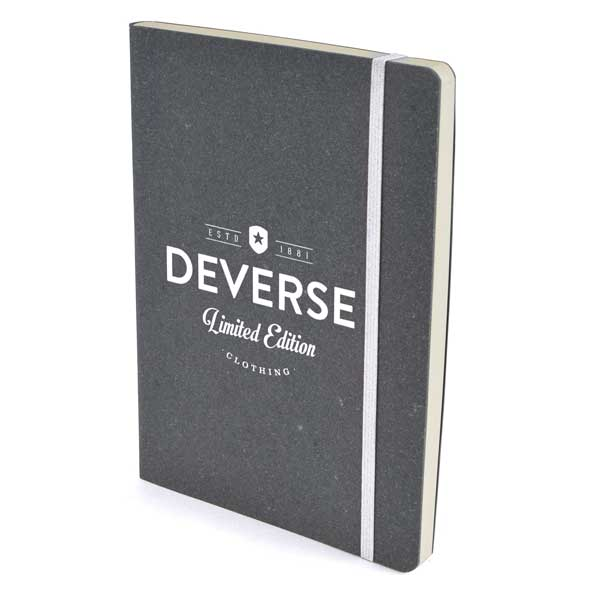 A5 Recycled Bonded Leather Notebook