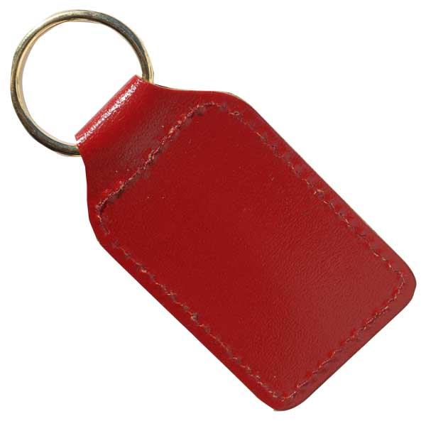 Recycled Leather Key Fob