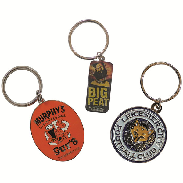 38mm Hard Enamel Key Ring