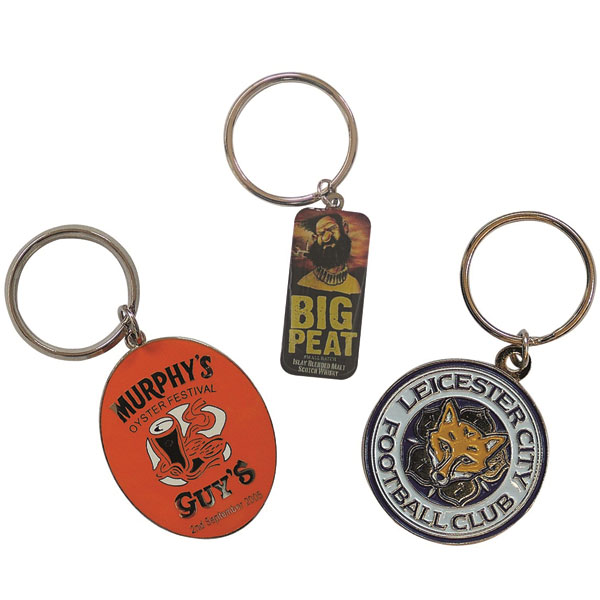 45mm Hard Enamel Key Ring