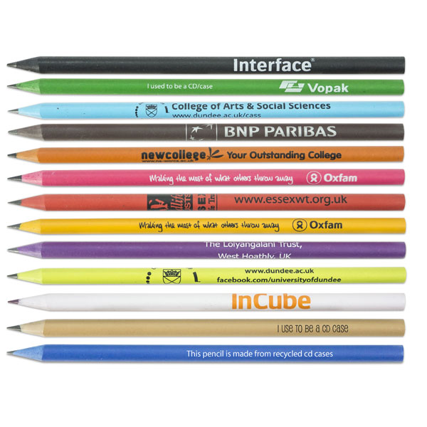 Green & Good Recycled CD Case Pencil