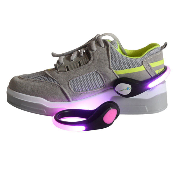 LED Light Up Shoe Clips