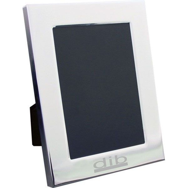 5 x 7 Inch Silver Plated Photo Frame