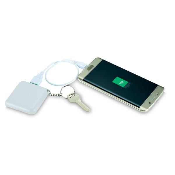Emergency Key Ring 1800mAh Powerbank