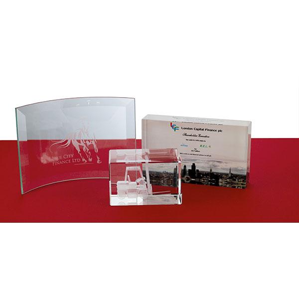 10 x 14.5cm Jade Glass Bev..