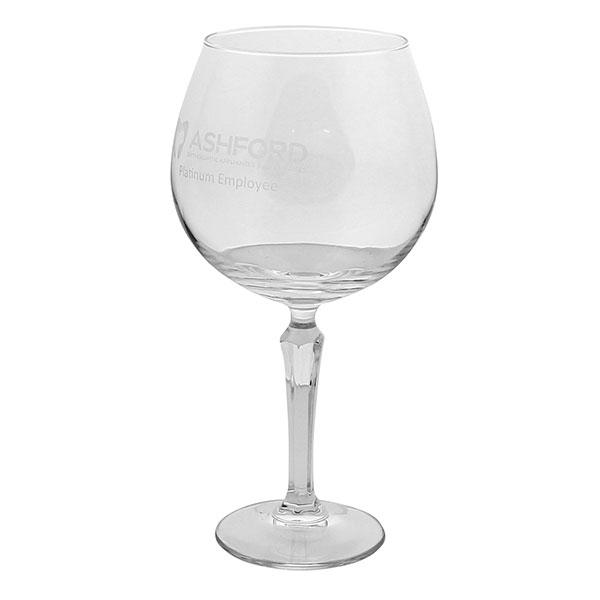 Retro Style Gin Glass