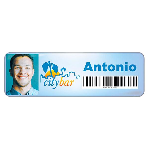 Domed ID Badge