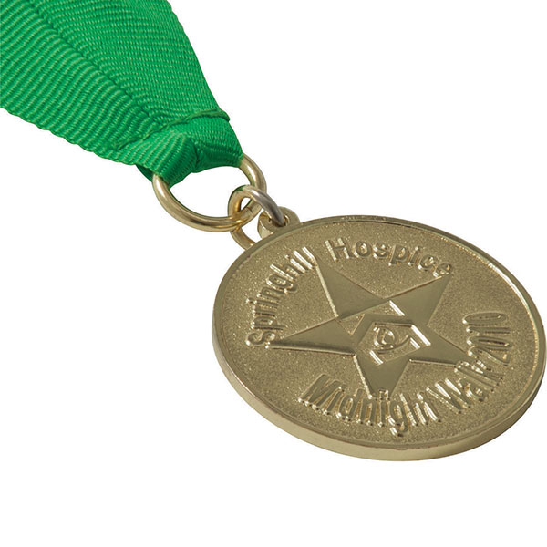 Stamped Iron Medal