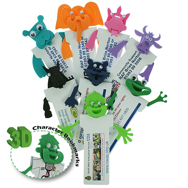 Foam Character Bookmarks