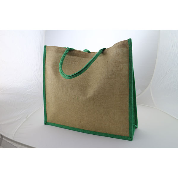 Large Natural Bag with Dye..
