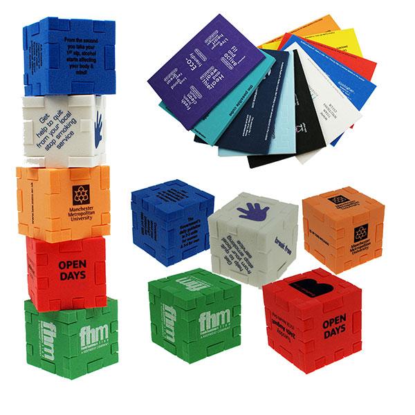 Small Foam Cube Puzzle
