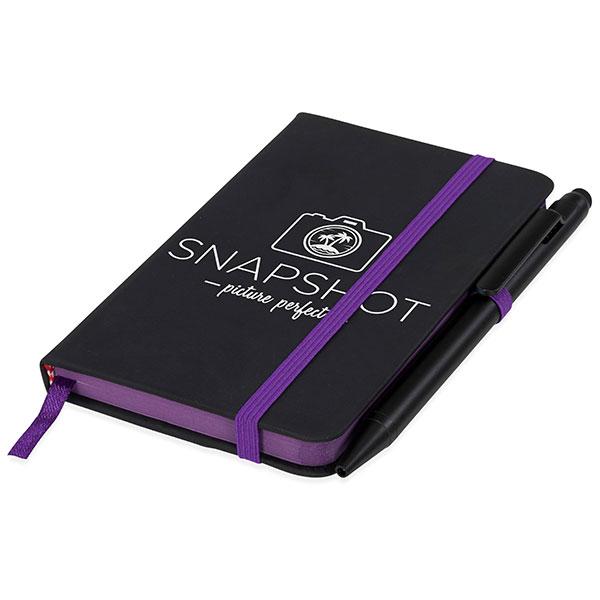 Small Noir Edge Notebook