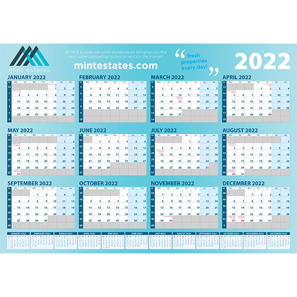 A3 Wall Planner