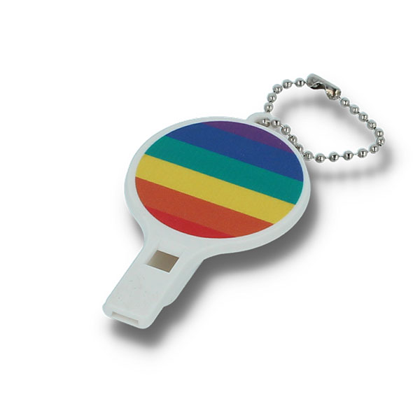 Recycled Pride Whistle