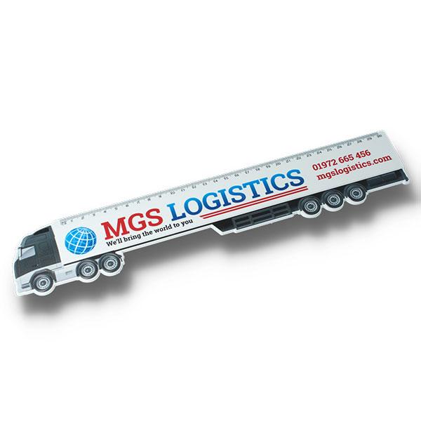 30cm Haulage Lorry Ruler